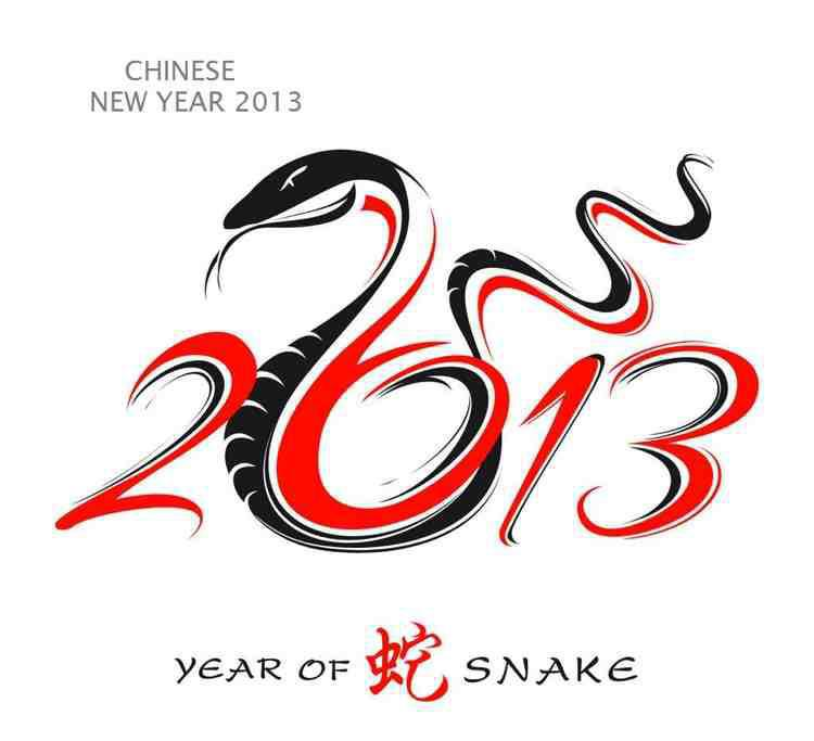 The Year of the Snake - Kung Shee Fat Choi